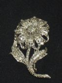 1960's Marcasite Flower Brooch (sold)